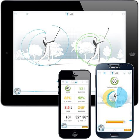 golf swing analyzer iphone golfsense golf swing analyzer