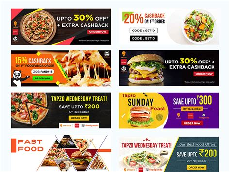food banner template psdauthor web resources and web design inspirations