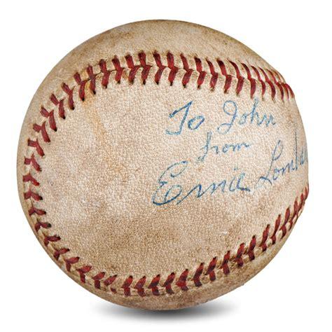 johnny bench signed baseball worth 100 johnny bench signed baseball worth big red