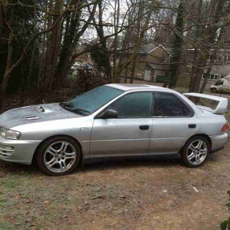 silver subaru impreza subaru 1998 impreza turbo 2000 awd silver car for sale