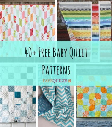 free printable rag quilt patterns 40 free baby quilt patterns favequilts com