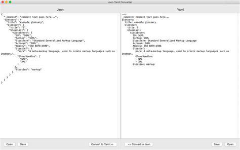 format yaml json yaml converter 在 mac app store 上的内容
