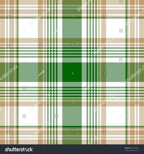 plaid pattern en espanol green beige white check plaid seamless stock vector