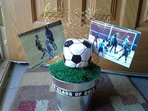 Soccer Banquet Centerpieces Cute Ideas Pinterest Soccer Banquet Centerpiece Ideas