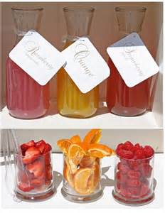 mimosa bar for the baby shower baby pinterest