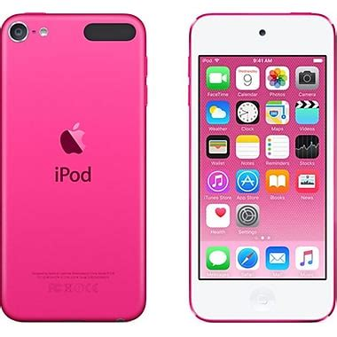 Ipod Touch 6th 16gb apple ipod touch 6th generation 16gb pink staples 174