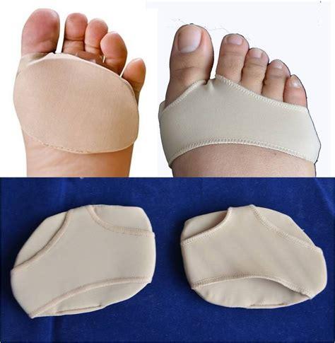 foot pads fabric gel metatarsal pads of foot gel pads cushions morton s neuroma ebay