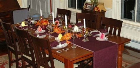 decorating dining room table for thanksgiving dining room beauteous thanksgiving table settings