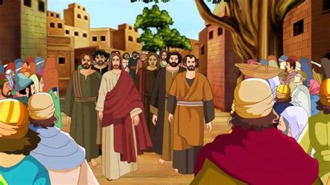 Wedding At Cana Interpretation by Bible Stories For Zacchaeus Jesus