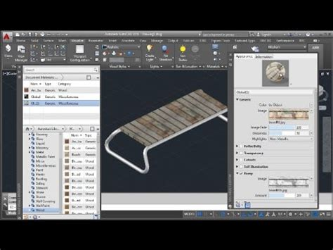 tutorial autocad 2016 youtube autocad 2016 bench basic 3d tutorial youtube
