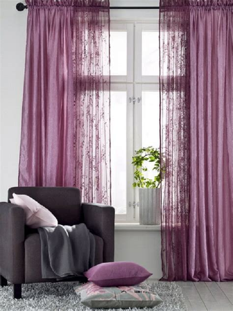 Curtains For Bathroom Window Ideas by How To Combine Colors And Textures In Curtains Interior