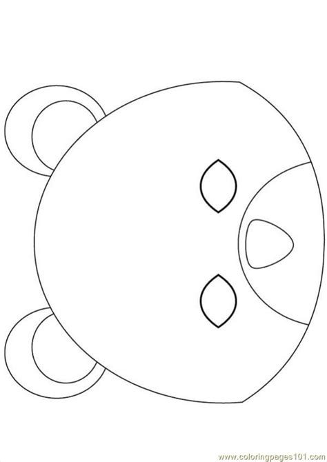 bear mask coloring page bear mask source jxn coloring page free brother bear