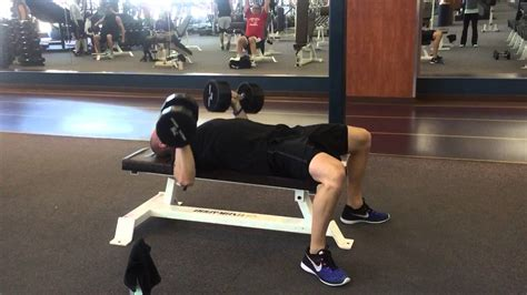 twisting dumbbell bench press dumbbell twist press youtube
