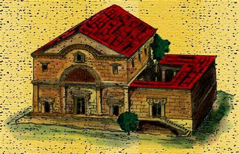 ancient middle eastern homes with flat roofs synagogues literature in new testament times