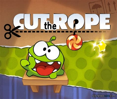 cutting rope games cut the rope review 3ds eshop nintendo life