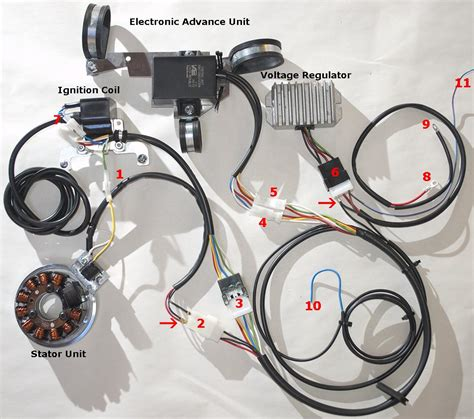 powerdynamo assembly for 6v bmw r50 r50s r60