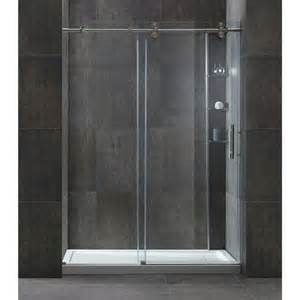 Bath Replacement Shower Madison Shower 10 Mm Tempered Glass Reversible Door Tub