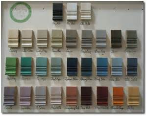 Furniture Paint Colors by Annie Sloan Paint Color Chart