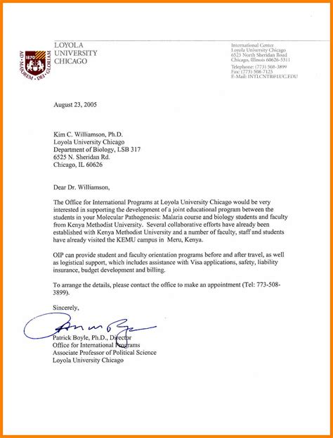 recommendation letter university student yahoo