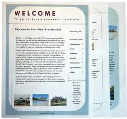 welcome packet template template idea