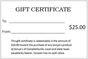 Make Your Own Vouchers Template by Gift Certificates Templates Free Printable Gift