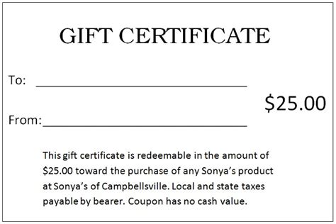 gift certificate templates word gift template category page 2 sawyoo