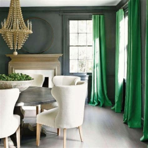 green walls grey curtains window fashions from inspiration to installation