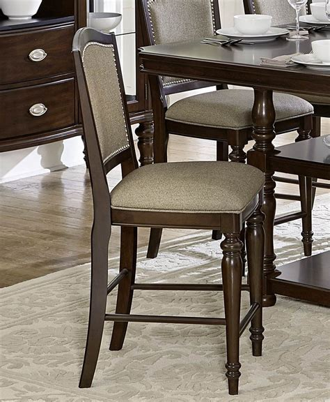 charisma chocolate accent chair from homelegance coleman marston brown counter height chair 2615dc 24 homelegance
