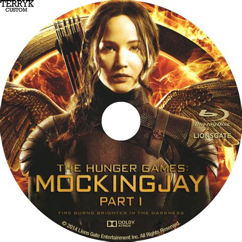 For Part I by The Hunger Mockingjay Part 1 Dvd Label