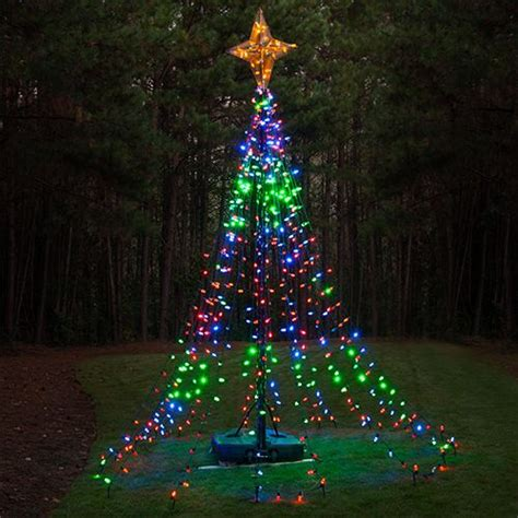 outdoor tree light shows 149 best outdoor decorations images on lights rope