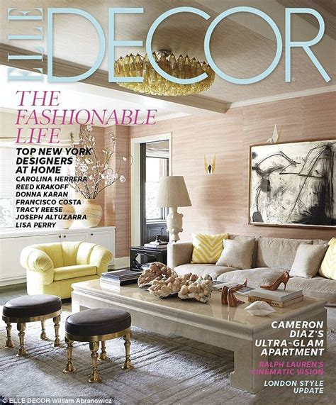new york home design magazine take a look inside cameron diaz s luxurious 2 400 square