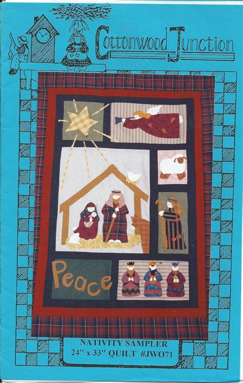 Cottonwood Quilt Shop by Nativity Sler By Cottonwood Junction Pattern
