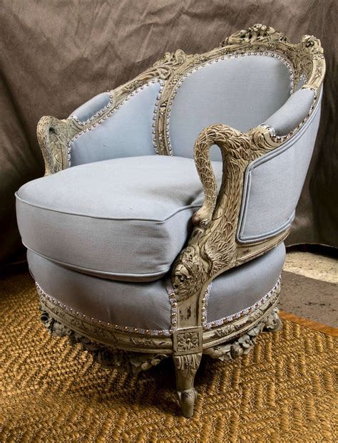 swan armchair an antique swedish painted decorated swan arm chair at 1stdibs