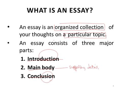 Define Process Essay by Lecture 17 Essay Writing Ppt