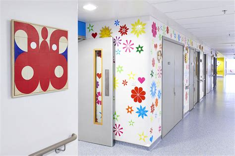 Childrens Wall Mural artists mural design royal london children hospital vital