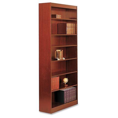 bookcase 36 x 84 square edge bookcase 36 quot x 12 quot x 84 quot 7 x shelf ves