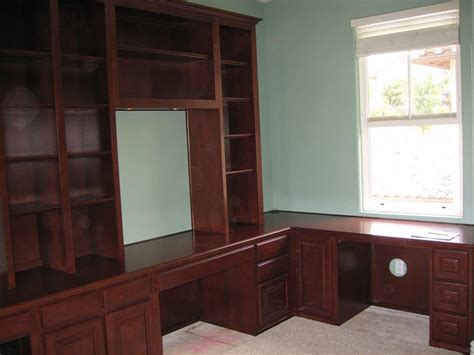 built in office desk and cabinets built in desks for home office custom home office