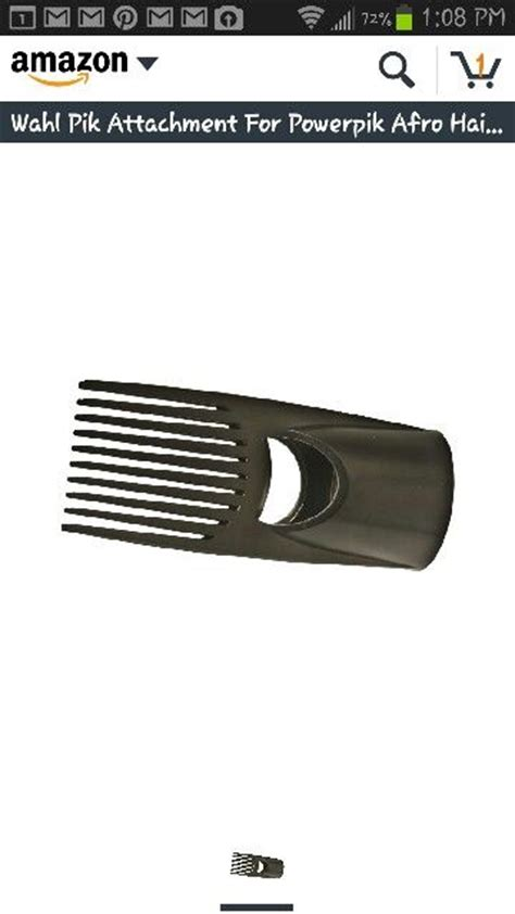 dryer comb attachment for american hair hair