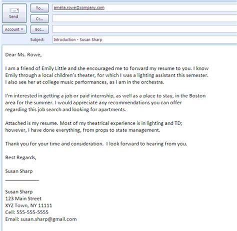 Best Photos Of Job Interest Email Sample Application For