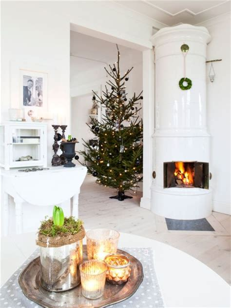 nordic decoration a small nordic inspired villa with a warm christmassy d 233 cor