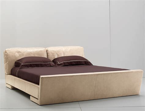 leather upholstered bed ulivi alison modern upholstered leather bed nella vetrina