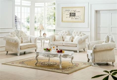 Living Rooms With White Sofas Antique White Living Room Furniture Ideas Decolover Net
