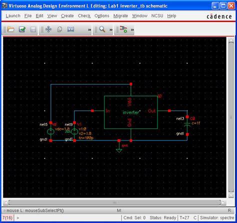 femto farad capacitor tutorial analog artist with spectre ncsu cdk