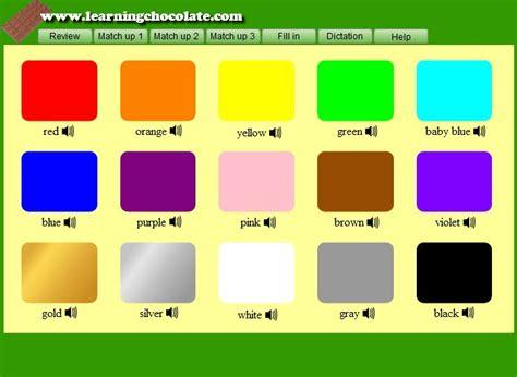 color vocabulary colors vocabulary guide org