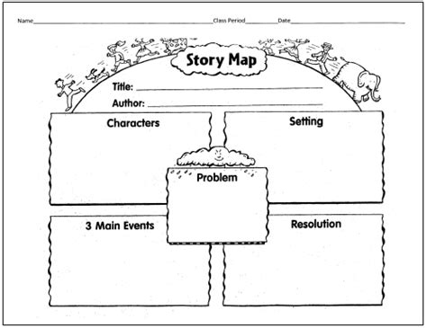 Printable Graphic Organizers For Story Elements
