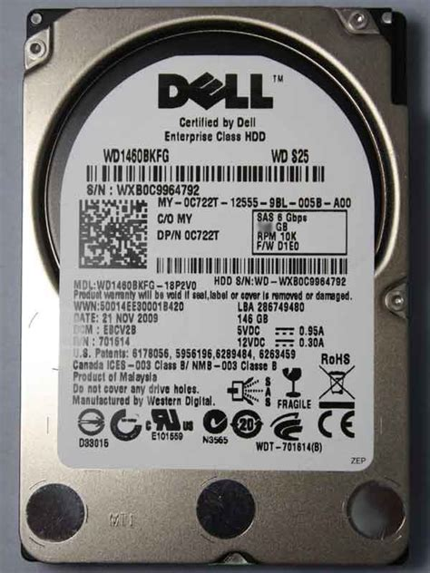 Dell 1 2tb 10k Rpm 12gbps Sas 2 5 Drive 400 aefs dell 1 2tb 10k rpm self encrypting sas 6gbits 2