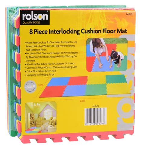 Rolson Floor Mat by Rolson 8 Interlocking Floor Mat Ebeez Co Uk
