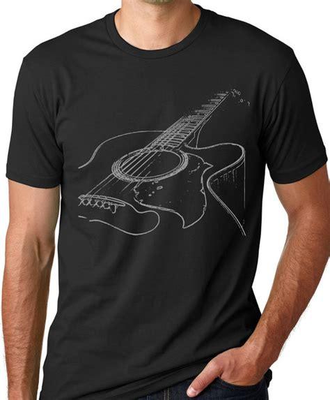 Csiro Wearable Instrument Shirt by Acoustic Guitar Tshirt Cool Musician T Shirt Screenprinted