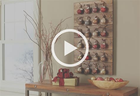 How To Make A Christmas Advent Calendar At The Home Depot