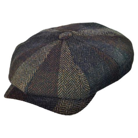 Patchwork Newsboy Cap - wigens caps patchwork magee newsboy cap newsboy caps